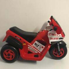 Motocicleta copii electrica Didy pentru copii, cu muzica si lumini