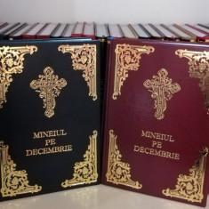 Mineiul pe decembrie în piele, Liturghier, Octoih Mare, Molitfelnic