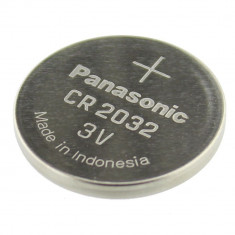 Baterie CR2032, 3V, litiu, 220mAh, PANASONIC