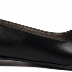 Balerini de dama din piele negri Ninna Art 146 negru