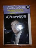 Charles Aznavour Les Deux Guitares 1960 Cd audio+ booklet 28 pagini, nou