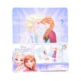 Set de colorat cu puzzle-uri Frozen, Disney