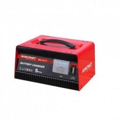 Redresor pentru baterii auto Worcraft BC-217, 12V/230V, 5A