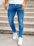 Blugi bleumarin bărbati skinny fit Bolf KX399