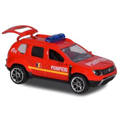 Masina de pompieri Majorette Dacia Duster foto
