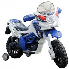 Motocicleta electrica J518, albastru