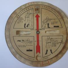 Raritate! Abecedarul Trăgătorului-Date de corectie,R.P.R. anii 50