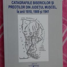 CATAGRAFIILE BISERICILOR  SI PREOTILOR DIN JUDETUL MUSCEL ANII 1810/1909/1941