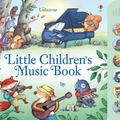 Little Childrens Music Book - Carte Usborne (3+)