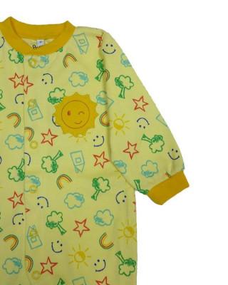 Salopeta / Pijama bebe cu desene Z62 foto
