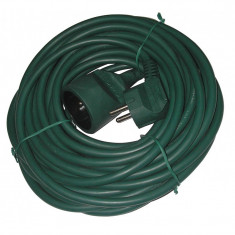 Cumpara ieftin Cablu prelungitor Well, 5 m, 1.0 mm, IP20, Verde