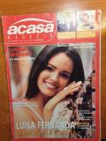 Acasa magazin 18-24 septembrie 2000-art tora vasilescu,formatia asia,c.trandafir