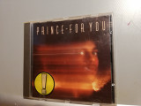Prince - For You  (1978/Warner/RFG) - CD ORIGINAL/Stare: ca Nou