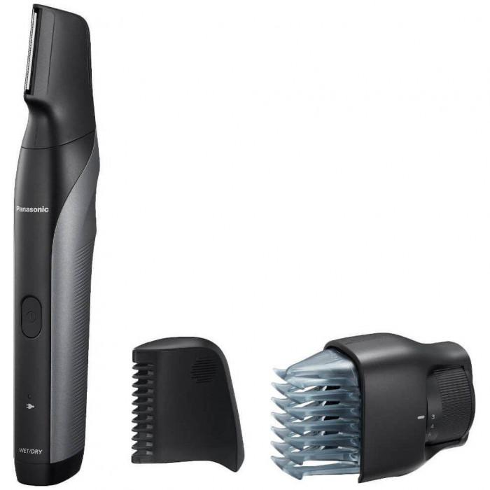 Trimmer pentru parul corporal Panasonic ER-GK80-S503 Lavabil accesoriu pentru zone sensibile Negru/Argintiu