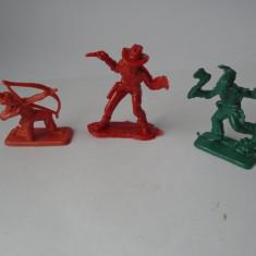 bnk jc Figurine plastic Hong Kong -  cowboy si indieni