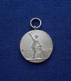 Medalie Ciclism - Romania - Interbelica - Gravor Gerscovici