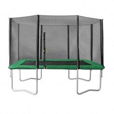 Set trambulina dreptunghiulara Ookee Jump, 366 cm, plasa de protectie