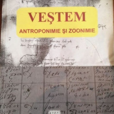 Vestem/ Antroponimie si zoonimie – Alexandru Bucur