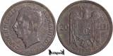 1930 Paris, 20 Lei - Carol al II-lea - Romania
