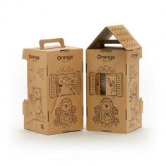 Prickle, ariciul cu traista, din plus, 15cm, Orange Toys
