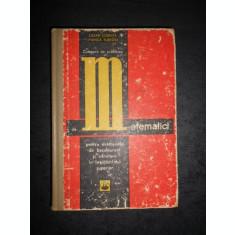 CEZAR COSNITA - CULEGERE DE PROBLEME DE MATEMATICI (coperta uzata)