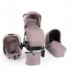 Carucior 3 in 1 copii 0 luni+ Trinity Beige Melange