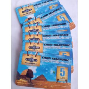 Cartele-Card telefonic Pelegrin 5 Euro