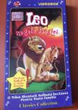 LEO , Regele Junglei   - Desene Animate ,  Caseta Video VHS