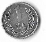 Moneda 1 zlot 1989 - Polonia