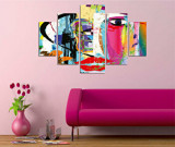 Tablou decorativ multicanvas Miracle Abstract, 236MIR2940, Multicolor