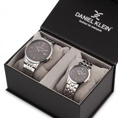 Set ceasuri pentru dama si barbati, Daniel Klein Pair, DK11789-4P