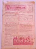 Program meci fotbal PETROLUL Ploiesti - DINAMO Bucuresti (20.08.1972)