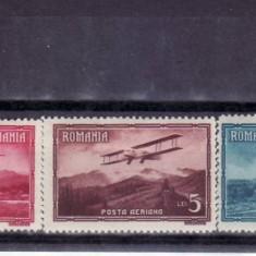 Romania 1931  Vederi (  posta  aeriana )