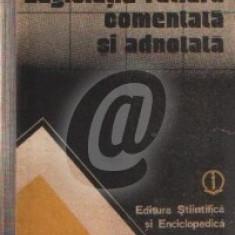 Legislatie rutiera comentata si adnotata (Ed. stiintifica si enciclopedica)
