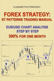 Forex Strategy: St Patterns Trading Manual, Eur/Usd Chart Analysis Step by Step, 300% for One Month
