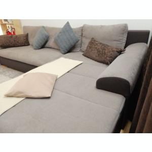 Colțar/canapea Amelia Kika extensibil