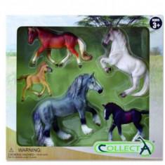 Set 5 figurine Cai, Collecta