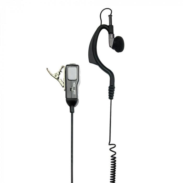 Resigilat : Casti cu microfon Midland MA21-L cu 2 pini pentru statii radio portabi