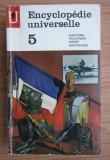 Encyclopedie universelle 5 - Histoire Politique Droit Sociologie