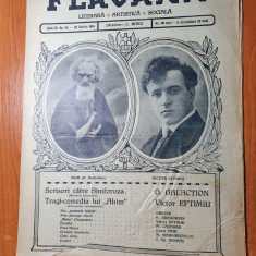 flacara 29 martie 1914-articole scrise de gala galaction si victor eftimiu