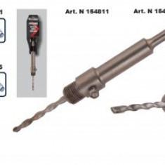 Tija conectoare SDS-PLUS 170mm, pentru carote beton, Raider