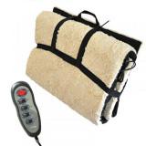 Saltea pentru masaj, 4 zone, incalzire si telecomanda