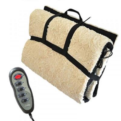 Saltea pentru masaj, 4 zone, incalzire si telecomanda foto