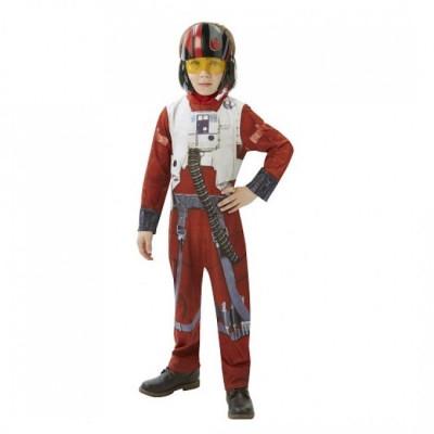 Costum Clasic X-WING Fighter Pilot, varsta 5-6 ani, marime M foto