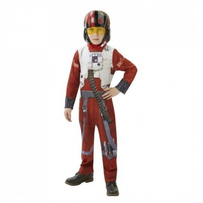 Costum Clasic X-WING Fighter Pilot, varsta 5-6 ani, marime M