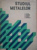 Studiul Metalelor - H. Colan Si Colab. ,281849