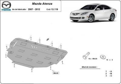 Scut motor metalic Mazda Atenza 2007-2012 foto