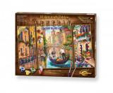 Kit 3 tablouri pictura pe numere Schipper - In Venetia pe canale, Simba