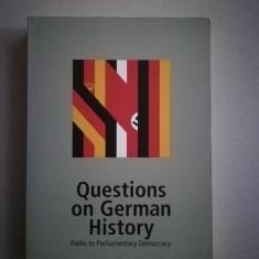 Istoria contemporana a Germaniei (in limba engleza)
