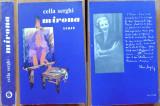 Cella Serghi , Mirona , 1972 , 2 autografe consistente catre Zaharia Stancu